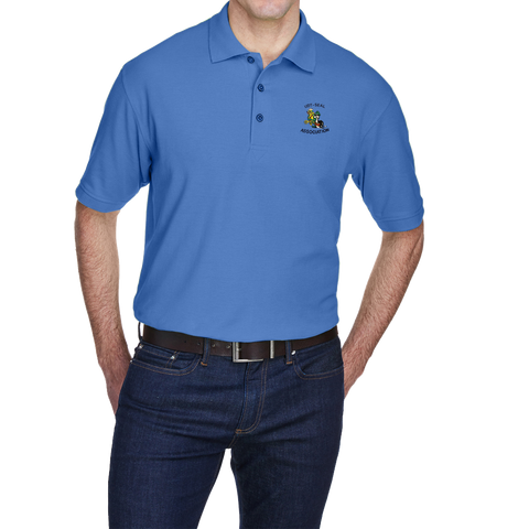 UltraClub Association Pique Polo Shirt
