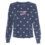 Ladies Trident Star Lazy Day Pullover Sweatshirt