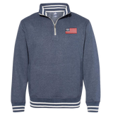 Relay Fleece Trident Flag Quarter-Zip Sweatshirt
