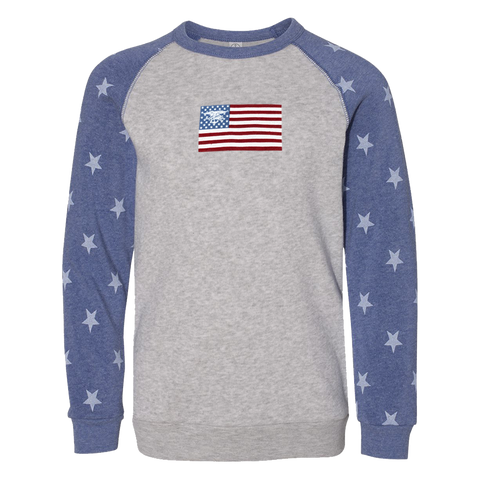 Youth Champ Trident Flag Sweatshirt