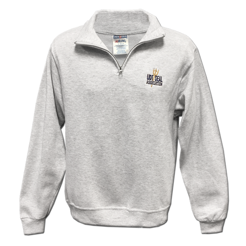 Association Quarter Zip Cadet Collar Sweatshirt