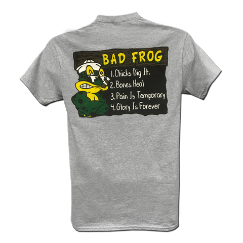 BAD FROG Tshirt - UDT-SEAL Store  - 1