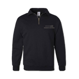 Bone Frog Cadet Collar Sweatshirt with Strength and Honor