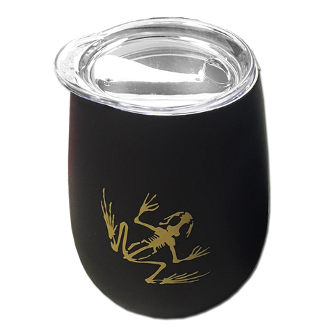 Bone Frog Stainless Steel Stemless Wine Glass