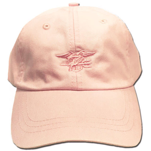 Ladies Pale Pink Trident Cap
