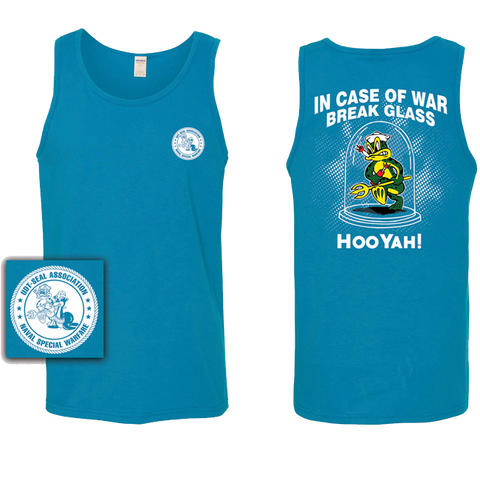 In Case of War Break Glass Tank Top