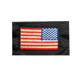 Core 365 Trident and American Flag Performance Pique Polo