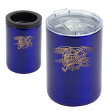 Trident Stainless Steel Tumbler + Can Cooler