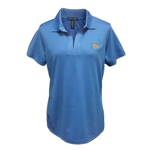 Ladies Trident Performance Plaited Polo