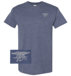 Navy SEAL Flag Home of the Brave Tshirt