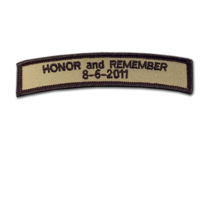 Honor and Remember 8-6-2011 Patch - UDT-SEAL Store  - 1