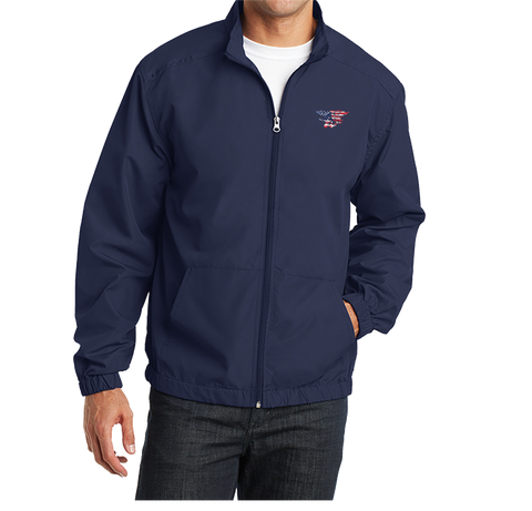 Trident American Flag Port Authority Essential Jacket