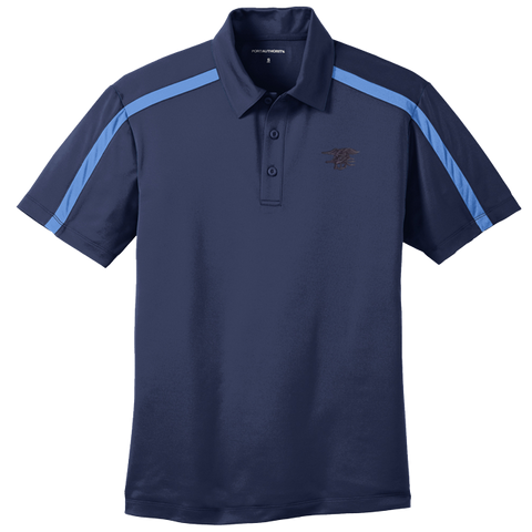 Trident Port Authority Silk Touch Performance Navy Blue Polo Shirt