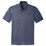 Men's Bone Frog Heather Navy Polo