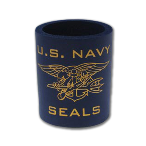 US NAVY SEALS Koozie with Trident - UDT-SEAL Store