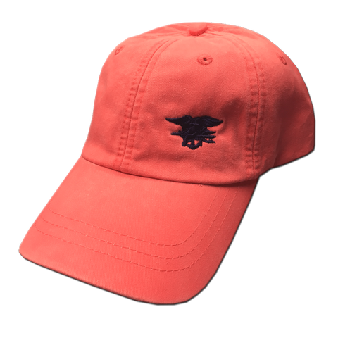 Ladies Coral Cap with Trident