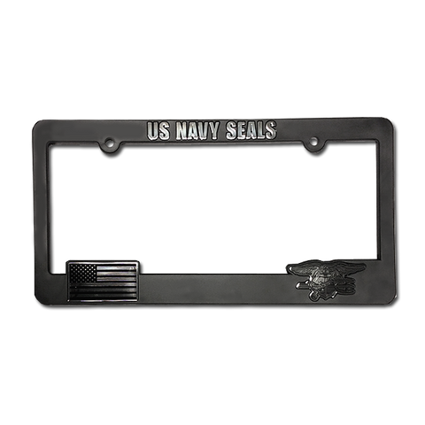 US NAVY SEALS License Plate Frame - UDT-SEAL Store  - 1