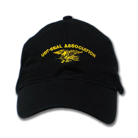 UDT-SEAL ASSOC Hat with Trident in Gold - UDT-SEAL Store  - 2