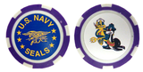 Casino Poker Chip US NAVY SEALS Trident