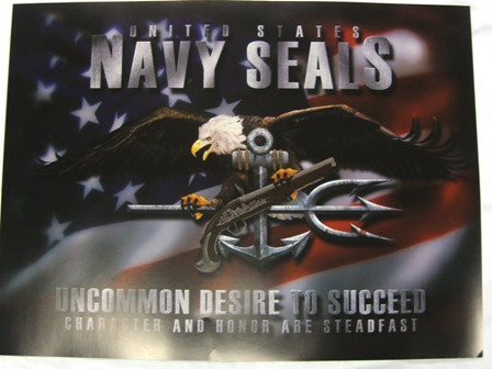 Poster Naval Special Warfare - UDT-SEAL Store