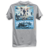 NSW MURAL T-SHIRT - UDT-SEAL Store  - 1