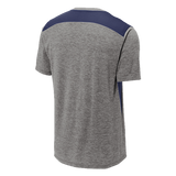 Sport-Tek Posicharge Tri-Blend Wicking Tee with Trident