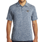 Trident Sport-Tek Posicharge Navy Electric Polo Shirt