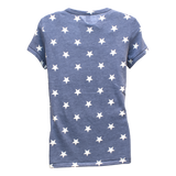 Ladies STARS Tee with Trident in Flag - UDT-SEAL Store  - 3