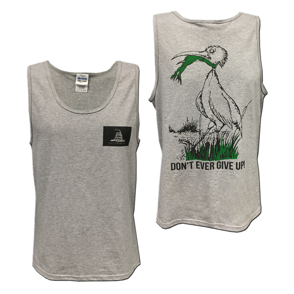 Don 39 T Ever Give Up Frog And Stork Tank Top Udt Seal Store
