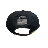 SWCC with American Flag Black Hat