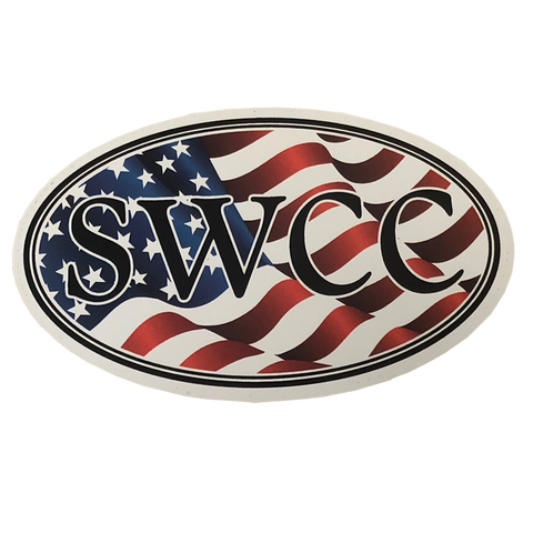 SWCC Oval Patriotic Decal
