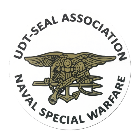 Inside Trident/Assoc. Rnd. Decal - UDT-SEAL Store  - 1