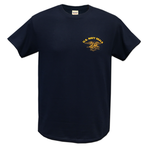 US Navy SEALs T-Shirt (Navy or Tan) - UDT-SEAL Store  - 2