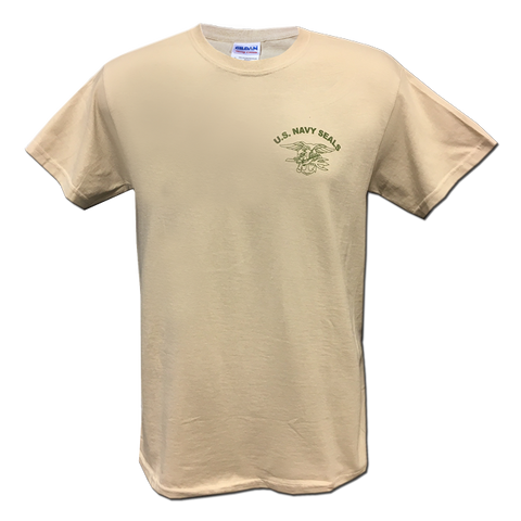US Navy SEALs TAN Tshirt