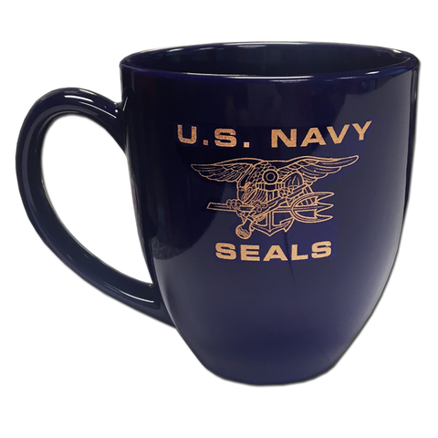 US NAVY SEALS Trident 16 oz Coffee Mug