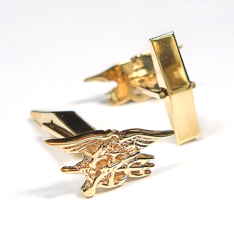 Trident 14K Yellow Gold Cuff Links - UDT-SEAL Store