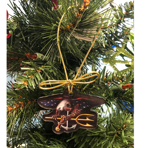 Trident Eagle Acrylic Ornament