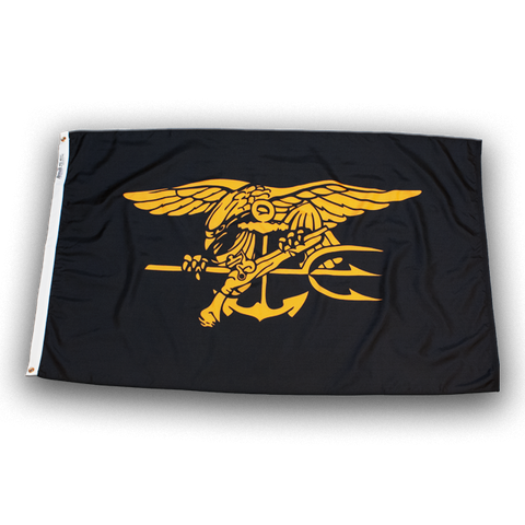 SEAL Flag with Trident - UDT-SEAL Store  - 3