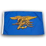 SEAL Flag with Trident - UDT-SEAL Store  - 2