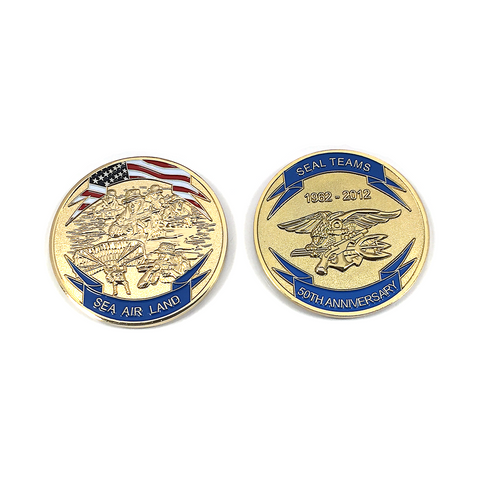 NAVY SEAL 50th Anniversary Coin - UDT-SEAL Store