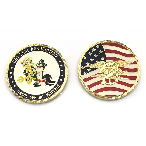 UDT-SEAL Association Challenge Coin - UDT-SEAL Store