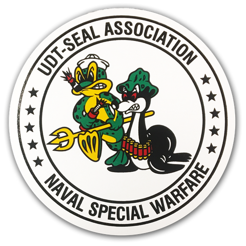 Large Association Round Decal