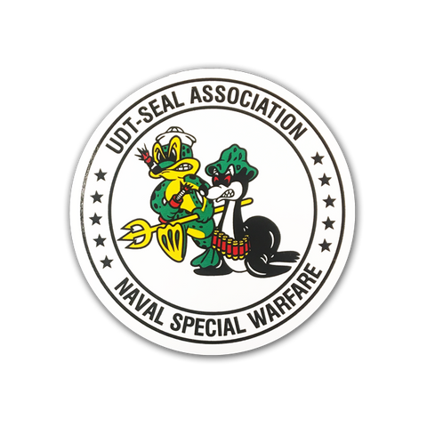 Small Association Round Decal