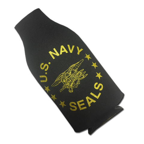 US NAVY SEAL Bottle Koozie with Trident - UDT-SEAL Store  - 2
