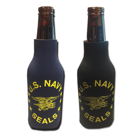 US NAVY SEAL Bottle Koozie with Trident - UDT-SEAL Store  - 1