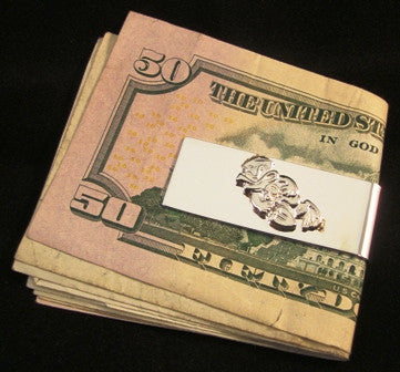 Sterling Silver Freddy the Frog Money Clip - UDT-SEAL Store  - 1
