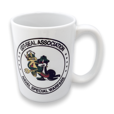 UDT-SEAL Association White Coffee Mug - UDT-SEAL Store