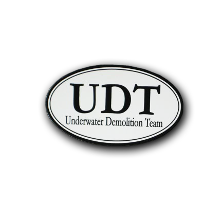 Oval UDT Decal - UDT-SEAL Store