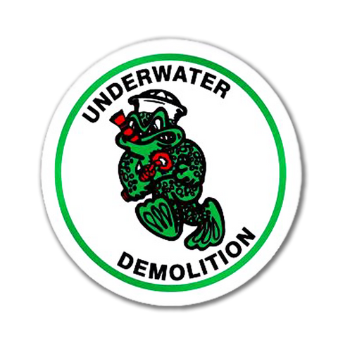 UDT Large Round Decal - UDT-SEAL Store