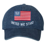 Trident American Flag United We Stand Hat
